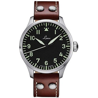 Laco 861688 Augsburg Type A Dial German Automatic Pilot Watch