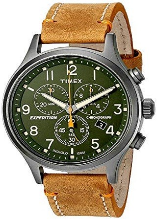 Timex Men's TW4B04400 Expedition Scout Chronograph Watch