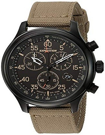 Timex TW4B10200 Men's Expedition Field Chronograph Watch