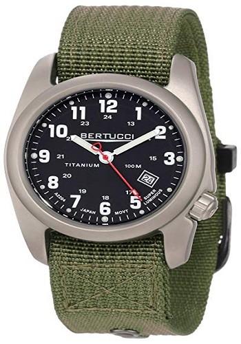 Bertucci Men's 12122 A-2T Original Classics Durable Titanium Field Watch