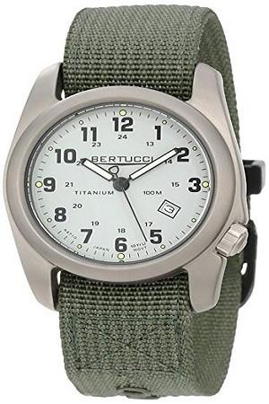Bertucci Men's 12703 A-2T Original Classics Durable Titanium Field Watch