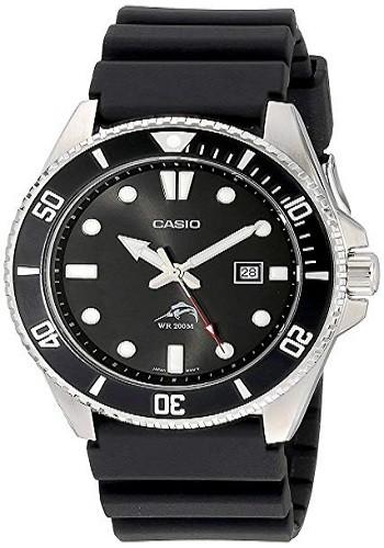 Casio MDV106-1AV Men's 200M Duro Analog Watch, Black