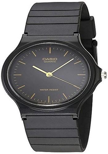 Casio MQ24-1E Men's Black Resin Watch