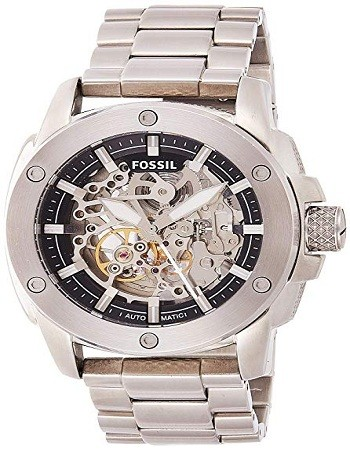Fossil ME3081 Men's Modern Machine Automatic Stainless Steel Watch
