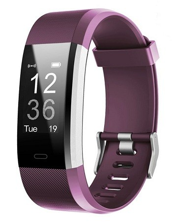 LETSCOM Fitness Tracker HR, Pedometer Watch for Kids Women and Men