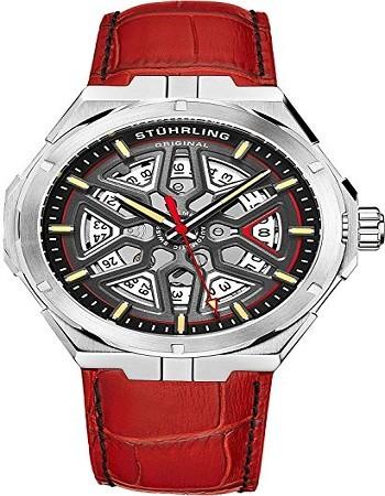 Stuhrling 379 Original Mens Swiss Automatic Watch - Self Winding Mens Dress Watch