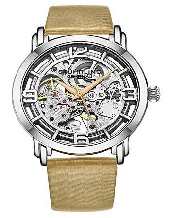Stuhrling 3982 Original Watches for Women Automatic Watch - Skeleton Watch Self Winding Womens Dress Watch