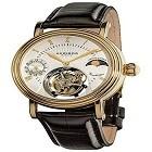 Akribos AK493 Mechanical Tourbillon AM/PM (Moonphase Design) Watch