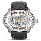 Fossil ME3041 Men's Townsman Automatic Stainless Steel Skeleton Watch