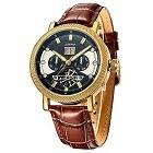 SURVAN SVA0004 Swiss Automatic Skeleton Wrist Watch for Men