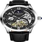 Stuhrling 3921 Original Automatic Watch for Men Skeleton Watch