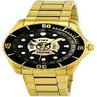 Aqua Force AF61Y Firefighter Golden Watch