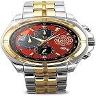 "Bradford Exchange ""For My Firefighter"" Men's Chronograph Watch"