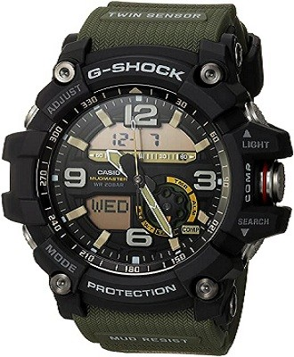 Casio Men's GG-1000-1A3CR Mudmaster G-SHOCK Quartz Casual Watch (Best G Shock Watch For Firefighters)