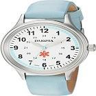 Dakota 53903 Women's Nurse Watch with Water Resistant Leather Band