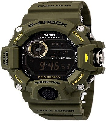 G-Shock Rangeman GW-9400 (Durable Watches For Construction Workers)
