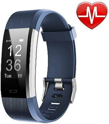 LETSCOM LS-004 Fitness Tracker HR, Activity Tracker Watch (Smart Watches for Nurses)