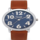Speidel 603398200 Men's Easy to Read Watch Featuring Large Numerals, a Second Hand