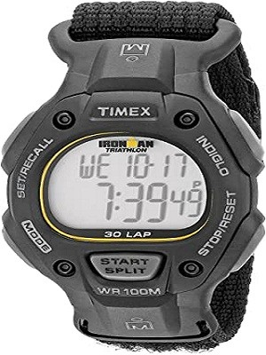 Timex T5K693 Ironman Classic 30 Full-Size 38mm Watch (Best watches for nursing students male)