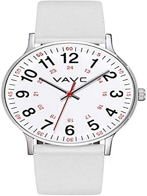 VAVC JE8272 Nurse Watch for Medical Students,Doctors Watch (Nurse Watches With Sweeping Second Hand)
