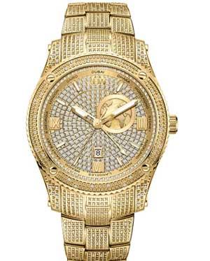 JBW Luxury Men's Diamond Wrist Watch